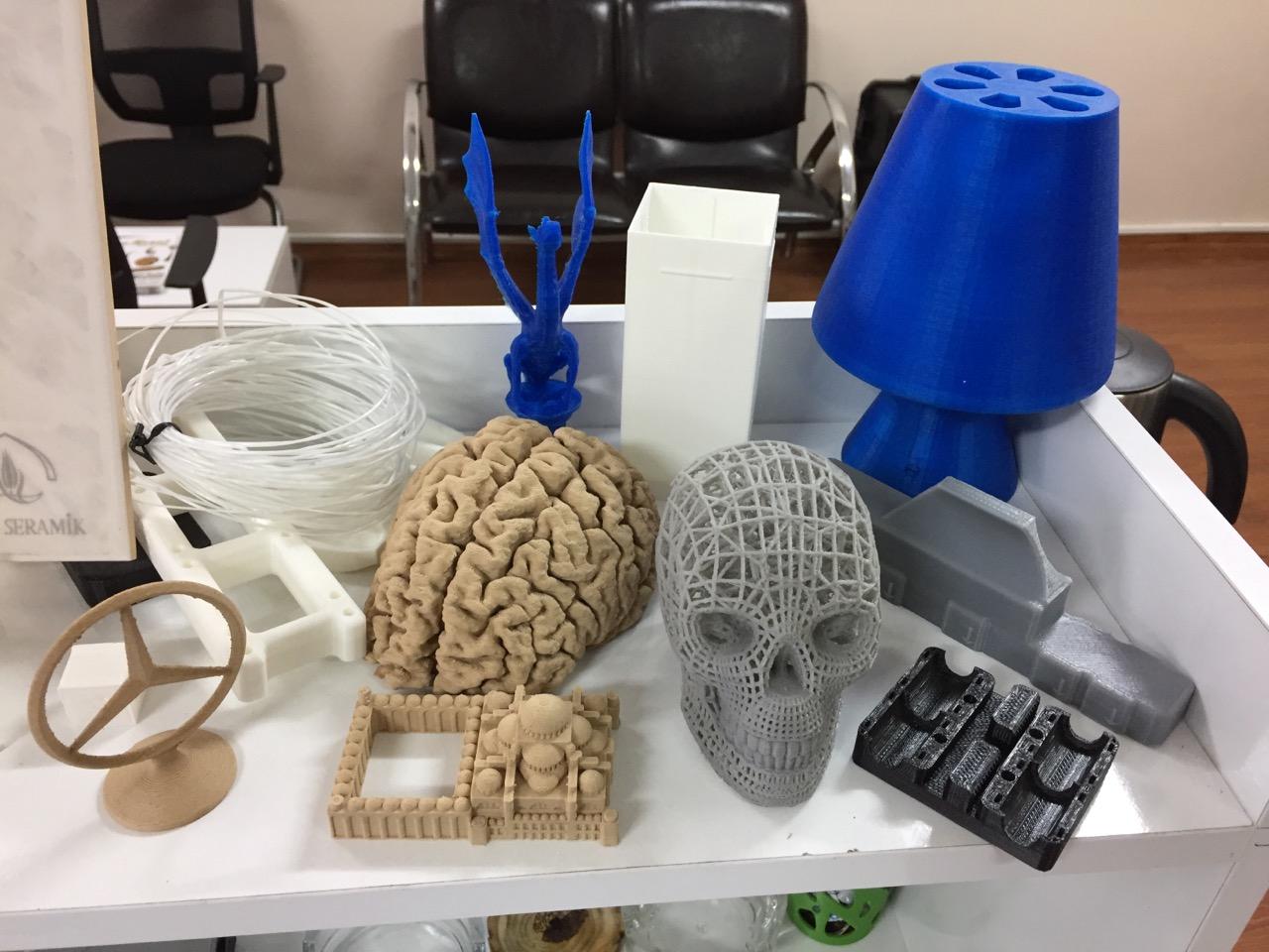 3D baskı merkezi